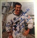 Manuscritos antiguos: FOTO FIRMADA POR EL ASTRONUATA RICHARD DICK GORDON JR - GEMINI 11 - APOLLO 12 - NASA - ASTRONAUT. Lote 105334895