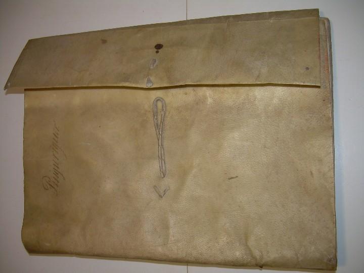 Manuscritos antiguos: IMPORTANTE MANUSCRITO DE 295 PAGINAS.BARCELONA.MISCELANEA DE PROPIEDADES.CALLE PLATERIA,CARRETAS ETC - Foto 2 - 105339195