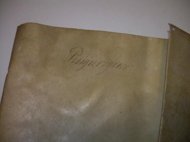 Manuscritos antiguos: IMPORTANTE MANUSCRITO DE 295 PAGINAS.BARCELONA.MISCELANEA DE PROPIEDADES.CALLE PLATERIA,CARRETAS ETC - Foto 3 - 105339195