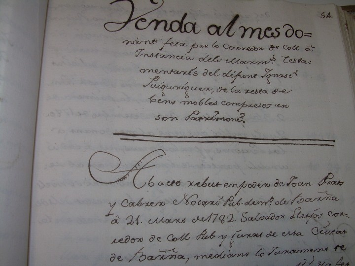 Manuscritos antiguos: IMPORTANTE MANUSCRITO DE 295 PAGINAS.BARCELONA.MISCELANEA DE PROPIEDADES.CALLE PLATERIA,CARRETAS ETC - Foto 15 - 105339195