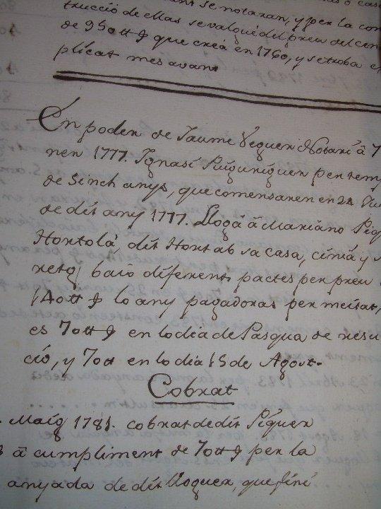 Manuscritos antiguos: IMPORTANTE MANUSCRITO DE 295 PAGINAS.BARCELONA.MISCELANEA DE PROPIEDADES.CALLE PLATERIA,CARRETAS ETC - Foto 26 - 105339195