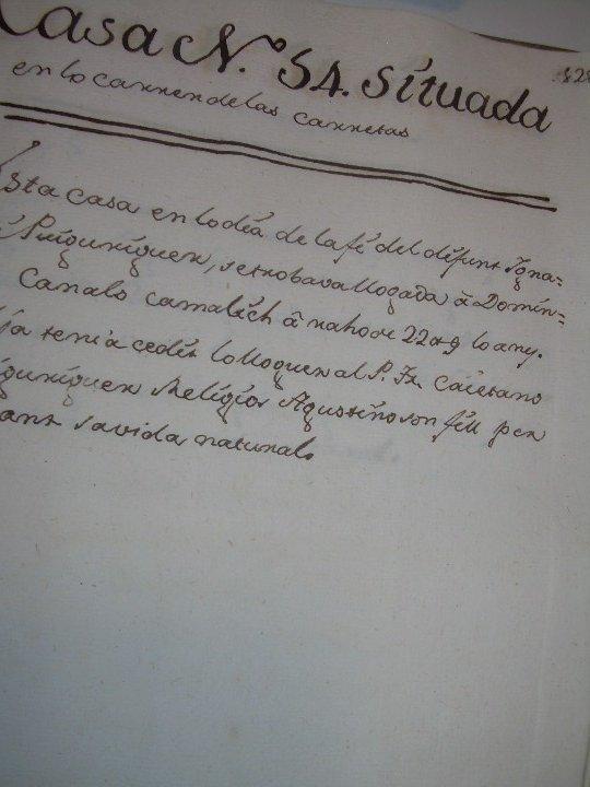 Manuscritos antiguos: IMPORTANTE MANUSCRITO DE 295 PAGINAS.BARCELONA.MISCELANEA DE PROPIEDADES.CALLE PLATERIA,CARRETAS ETC - Foto 27 - 105339195