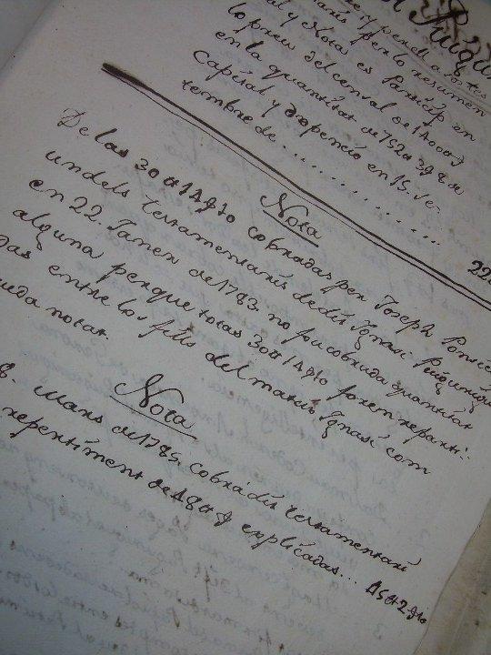 Manuscritos antiguos: IMPORTANTE MANUSCRITO DE 295 PAGINAS.BARCELONA.MISCELANEA DE PROPIEDADES.CALLE PLATERIA,CARRETAS ETC - Foto 28 - 105339195