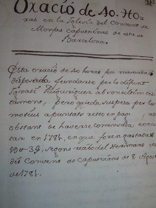 Manuscritos antiguos: IMPORTANTE MANUSCRITO DE 295 PAGINAS.BARCELONA.MISCELANEA DE PROPIEDADES.CALLE PLATERIA,CARRETAS ETC - Foto 29 - 105339195