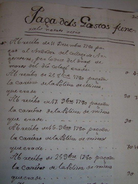 Manuscritos antiguos: IMPORTANTE MANUSCRITO DE 295 PAGINAS.BARCELONA.MISCELANEA DE PROPIEDADES.CALLE PLATERIA,CARRETAS ETC - Foto 32 - 105339195