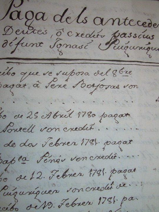 Manuscritos antiguos: IMPORTANTE MANUSCRITO DE 295 PAGINAS.BARCELONA.MISCELANEA DE PROPIEDADES.CALLE PLATERIA,CARRETAS ETC - Foto 34 - 105339195