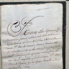 Manuscritos antiguos: TESTIMONIO JUAN SANDOVAL GUZMAN - MARIA TINOCO FIGUEROA - HERNANDO BARAHONA - JEREZ - CONQUISTA. Lote 107216927