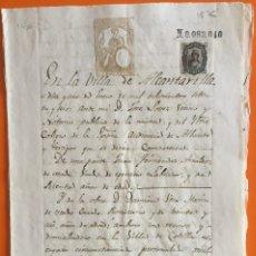 Manuscritos antiguos: ALCANTARILLA- ALGUAZAS- MURCIA MANUSCRITO 1.876. Lote 108048931