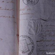 Manuscritos antiguos: MARQUES DE MEDINA, MADRID 1859. Lote 108334383