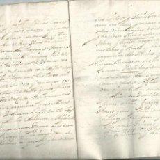 Manuscritos antiguos: ACEITE OLIVOS OLIVAR ACEITUNA - INTERESANTE CONJUNTO DE 78 DOCUMENTOS - 1664-1899. Lote 108677647