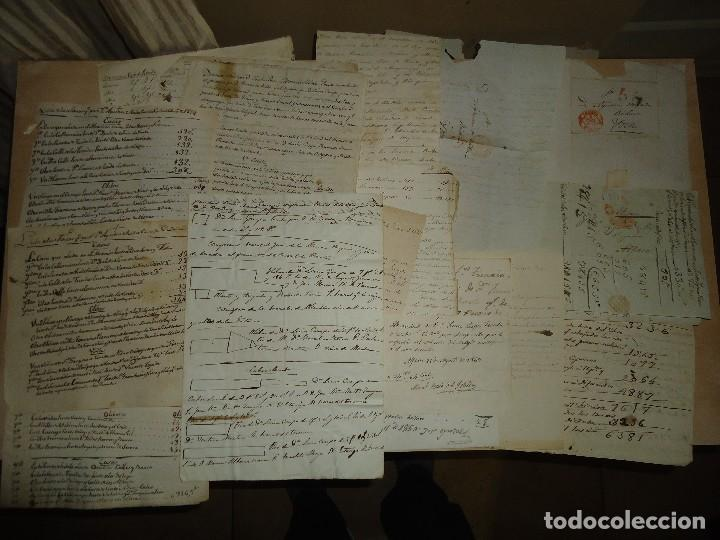 Manuscritos antiguos: ACEITE OLIVOS OLIVAR ACEITUNA - INTERESANTE CONJUNTO DE 78 DOCUMENTOS - 1664-1899 - Foto 3 - 108677647