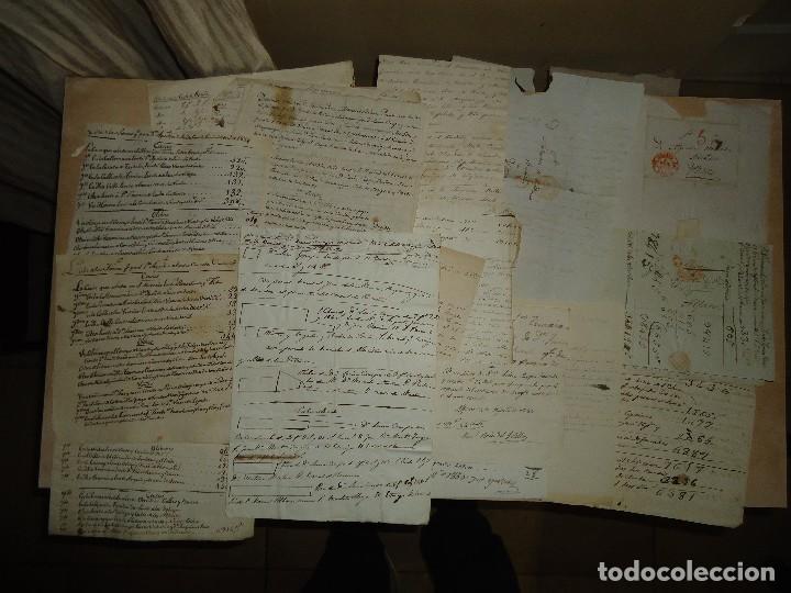Manuscritos antiguos: ACEITE OLIVOS OLIVAR ACEITUNA - INTERESANTE CONJUNTO DE 78 DOCUMENTOS - 1664-1899 - Foto 4 - 108677647