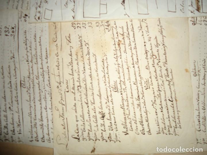 Manuscritos antiguos: ACEITE OLIVOS OLIVAR ACEITUNA - INTERESANTE CONJUNTO DE 78 DOCUMENTOS - 1664-1899 - Foto 7 - 108677647
