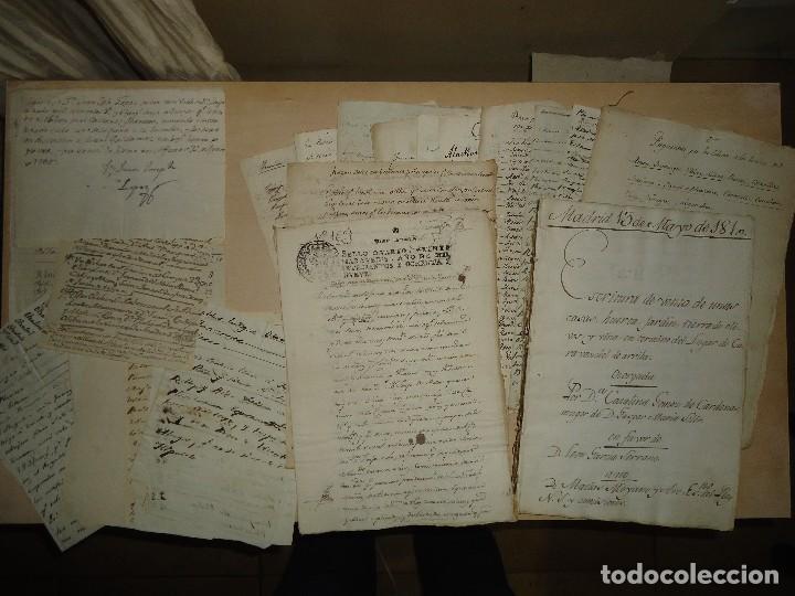 Manuscritos antiguos: ACEITE OLIVOS OLIVAR ACEITUNA - INTERESANTE CONJUNTO DE 78 DOCUMENTOS - 1664-1899 - Foto 9 - 108677647