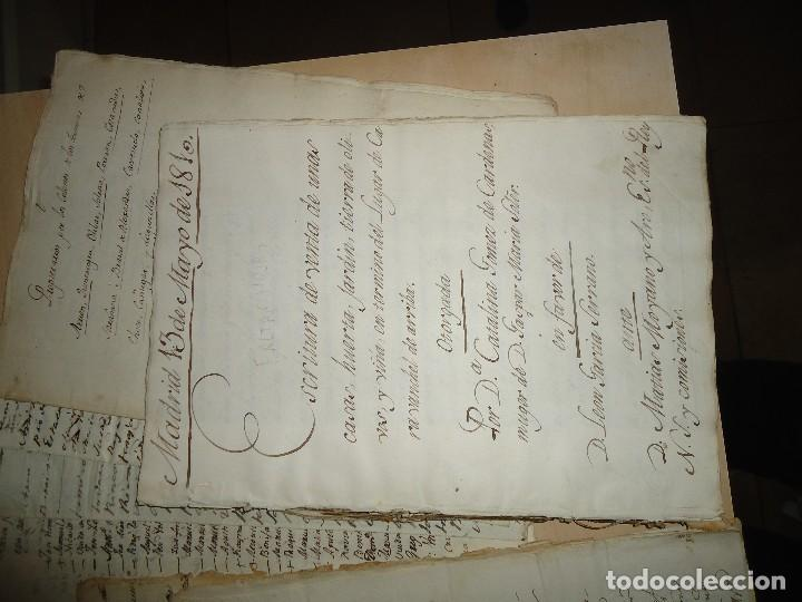 Manuscritos antiguos: ACEITE OLIVOS OLIVAR ACEITUNA - INTERESANTE CONJUNTO DE 78 DOCUMENTOS - 1664-1899 - Foto 10 - 108677647