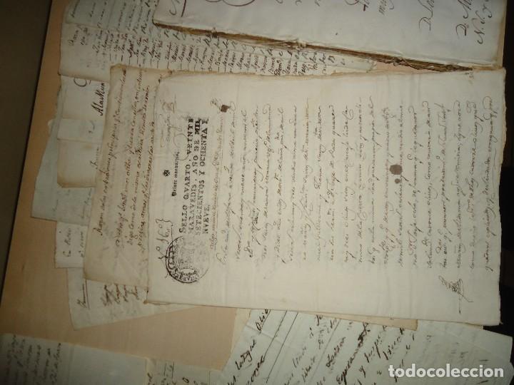 Manuscritos antiguos: ACEITE OLIVOS OLIVAR ACEITUNA - INTERESANTE CONJUNTO DE 78 DOCUMENTOS - 1664-1899 - Foto 11 - 108677647