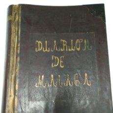 Manuscritos antiguos: LIBRO DIARIO DE LA JUNTA DE OBRAS DEL PUERTO DE MÁLAGA 1913-1918. LEER.. Lote 108678327