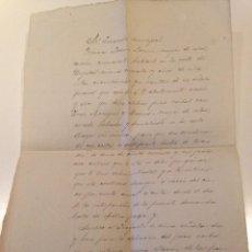 Manuscritos antiguos: DOCUMENTO MANUSCRITO ORIGINAL AÑO 1917 JUZGADO POBLACION PETRA, MALLORCA. Lote 108688431