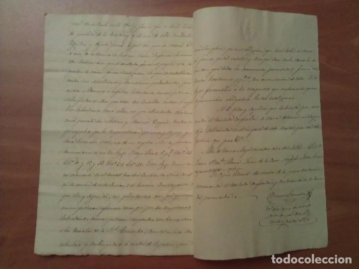 Manuscritos antiguos: 1922-1924 ??? COPIA DE ESCRITO NOTARIAL- ALBA DE TÓRMES / SALAMANCA - Foto 2 - 109495595