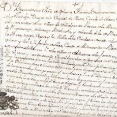 Manuscritos antiguos: NOMBRAMIENTO ALCALDE DE LA VILLA DE BRIVIESCA, BURGOS. FIRMA ORIGINAL DUQUE DE FRIAS. 1652. Lote 110126923