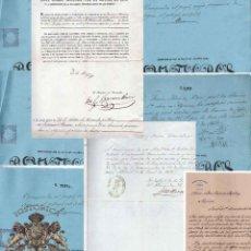 Manuscritos antiguos: LOTE.CONCEDE JEFE ADMINISTRACIÓN LOTERÍA PÚBLICA.ALGECIRAS.CADIZ. 1866 FIRMA ORIGINAL M.D.HACIENDA.. Lote 110133495