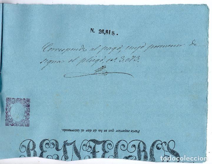 Manuscritos antiguos: LOTE.CONCEDE JEFE ADMINISTRACIÓN LOTERÍA PÚBLICA.ALGECIRAS.CADIZ. 1866 FIRMA ORIGINAL M.D.HACIENDA. - Foto 14 - 110133495