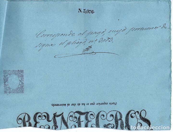 Manuscritos antiguos: LOTE.CONCEDE JEFE ADMINISTRACIÓN LOTERÍA PÚBLICA.ALGECIRAS.CADIZ. 1866 FIRMA ORIGINAL M.D.HACIENDA. - Foto 16 - 110133495