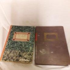 Manuscritos antiguos: DOS CUADERNOS MANUSCRITOS COPIA DE DON QUIJOTE DE LA MANCHA VER FOTOS. Lote 110218179