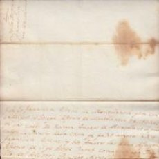 Manuscritos antiguos: ONTBLANC CONCA DE BARBERÀ 1793 REBUT PANSÍO DE LA CASA ASTEVE AMOROS. Lote 111085739