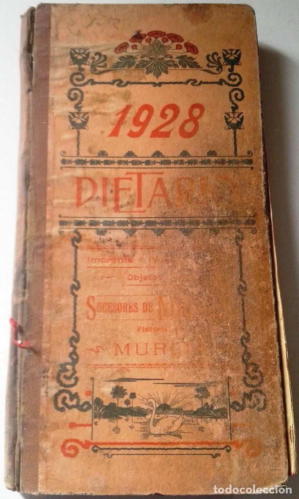 DIETARIOS AÑOS 20 MANUSCRITOS LOTE DE 6 (Coleccionismo - Documentos - Manuscritos)