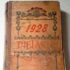 Manuscritos antiguos: DIETARIOS AÑOS 20 MANUSCRITOS LOTE DE 6. Lote 111358139