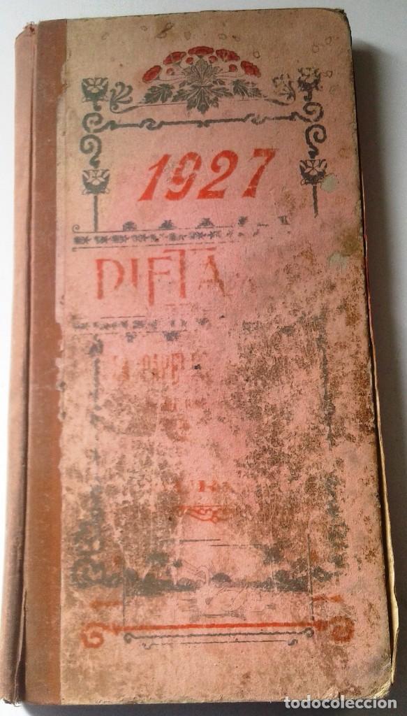 Manuscritos antiguos: DIETARIOS AÑOS 20 MANUSCRITOS LOTE DE 6 - Foto 3 - 111358139