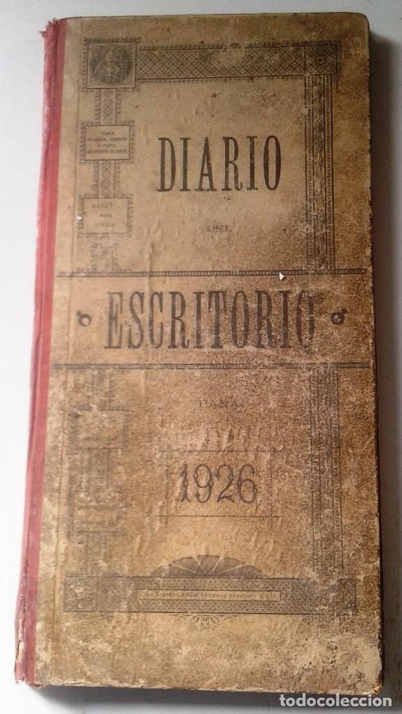 Manuscritos antiguos: DIETARIOS AÑOS 20 MANUSCRITOS LOTE DE 6 - Foto 4 - 111358139