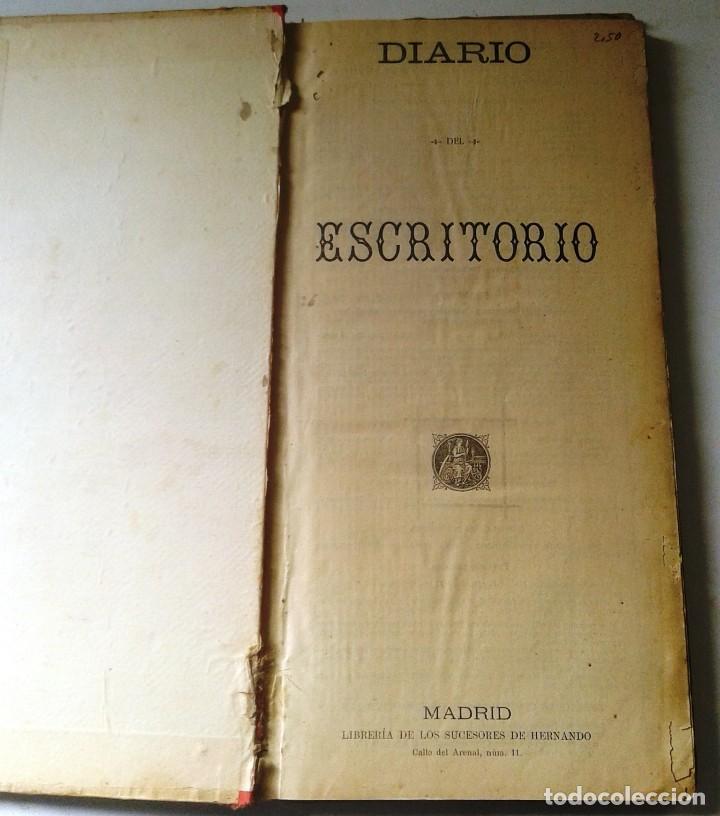Manuscritos antiguos: DIETARIOS AÑOS 20 MANUSCRITOS LOTE DE 6 - Foto 8 - 111358139