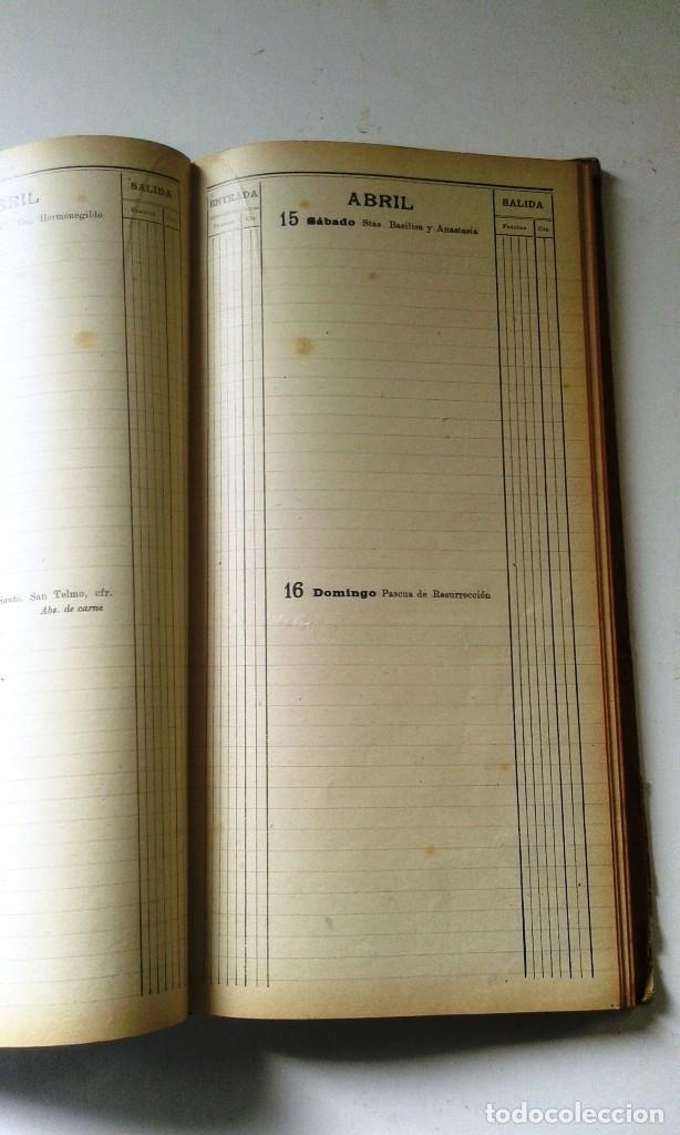 Manuscritos antiguos: DIETARIOS AÑOS 20 MANUSCRITOS LOTE DE 6 - Foto 12 - 111358139
