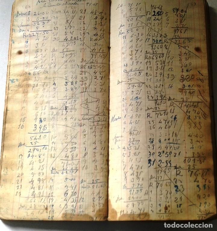 Manuscritos antiguos: DIETARIOS AÑOS 20 MANUSCRITOS LOTE DE 6 - Foto 14 - 111358139