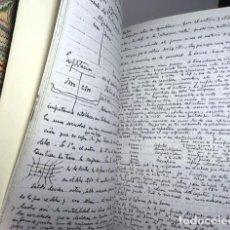 Manuscritos antiguos: APUNTES TOMADOS EN EL CURSO 1941-42 AL PROFESOR DE DIRECCIÓN DE EMPRESAS, DON JOSÉ Mª AGUIRRE GON. Lote 111513455