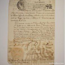 Manuscritos antiguos: NOMBRAMIENTO DE REGIDOR DADO POR EL XI DUQUE DE MEDINACELI - XI DUQUE DE MEDINACELI. Lote 111554371