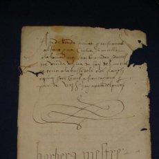 Manuscritos antiguos: 1570. VALENCIA. VENTA DE UN CAMPO EN CATIVI. Lote 112634587