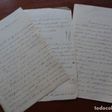 Manuscritos antiguos: S XIX, LEY DE METALES PRECIOSOS, PUNZONES UTILIZADOS EN CONTRASTE DE PARÍS, INTRO SISTEMA MÉTRICO. Lote 112946663