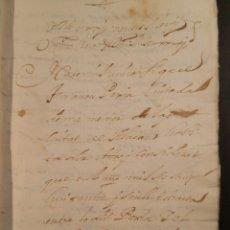 Manuscritos antiguos: ALICANTE 1691 MANUSCRITO ESCRITURA DE VENTA EN VALENCIANO. Lote 112960618