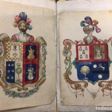 Alte Manuskripte - Nobleza de D. Francisco Tacon Grimau Cardenas Peralta, regidor perpetuo de la ciudad de Cartagena. - 113102211