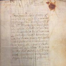 Alte Manuskripte - Hidalguia de Francisco y Diego Meléndez de Sepúlveda, vecinos de Cabrejas del Pinar, Soria. 1571 - 113190675