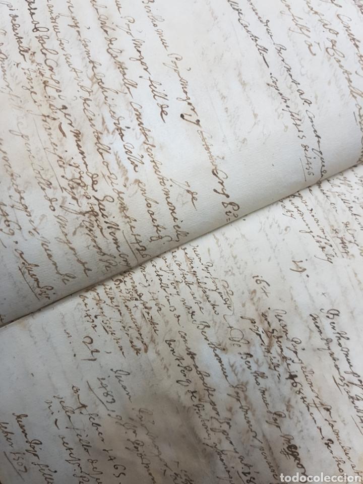 Manuscritos antiguos: S.XVII.CERTIFICACIÓN Y BLASÓN DE ARMAS, PAYANES, PAYA CASTALLA, REYNO VALENCIA. GERONIMO DE VILLA. - Foto 2 - 113216256