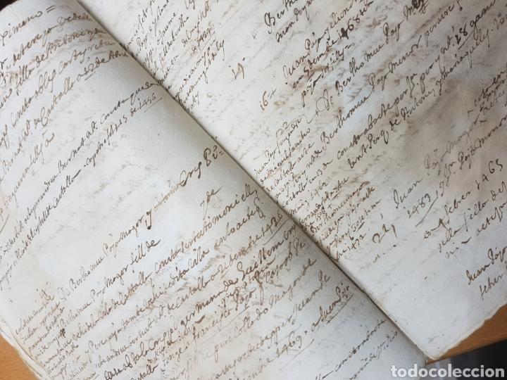 Manuscritos antiguos: S.XVII.CERTIFICACIÓN Y BLASÓN DE ARMAS, PAYANES, PAYA CASTALLA, REYNO VALENCIA. GERONIMO DE VILLA. - Foto 4 - 113216256