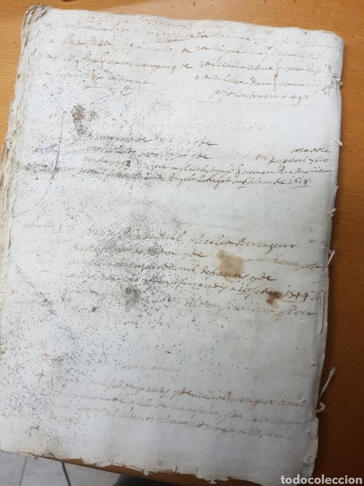 Manuscritos antiguos: S.XVII.CERTIFICACIÓN Y BLASÓN DE ARMAS, PAYANES, PAYA CASTALLA, REYNO VALENCIA. GERONIMO DE VILLA. - Foto 6 - 113216256