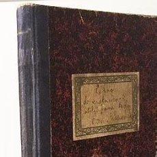 Manuscritos antiguos: CUADERNO MANUSCRITO DEL TELEGRAFISTA DEL VAPOR CORREO ´ANTONIO LÓPEZ´ (C. 1927-1933). Lote 113245423