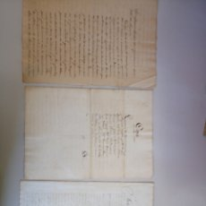 Manuscritos antiguos: ANTIGUOS DOCUMENTOS MANUSCRITOS 1847 1882. Lote 113329638