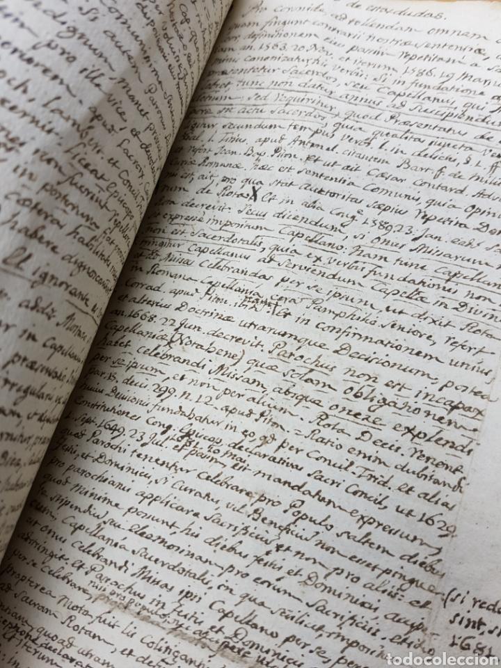 S.XVIII - 1760, MONOVAR, ALICANTE, INTERESANTE DOCUMENTO, CAPELLANIA FUNDADA POR JOSEPH RICO (Coleccionismo - Documentos - Manuscritos)