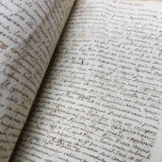 Manuscritos antiguos: S.XVIII - 1760, MONOVAR, ALICANTE, INTERESANTE DOCUMENTO, CAPELLANIA FUNDADA POR JOSEPH RICO. Lote 113444054